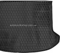 Резиновый коврик багажника Kia Sorento 2013- (7 мест) Avto-Gumm