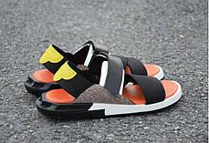Мужские сандали Adidas Y-3 KAOHE SANDAL Black/Blue/Yellow/Orange B23722, фото 3