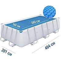 Солярный тент для бассейна Bestway 58240, 404 х 201 см, с эффектом антиохлаждение