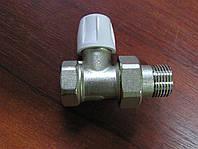 Кран радиаторный 1/2 прямой ИКМА