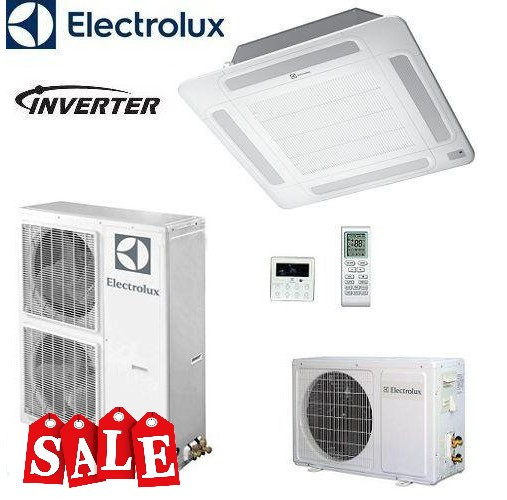 Кондиционер- Electrolux Кассетные Unitary Pro Inverter (-15°C)