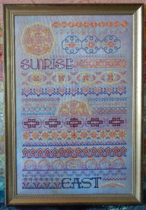 Схема для вышивки Rosewood Manor SUNRISE / Рассвет