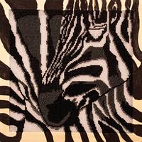Набор для вышивания бисером FLF-070Африка Волшебная страна 30*30 качественный , фото 1