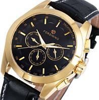 Мужские механические часы Forsining Brand. Классические наручные часы с датой