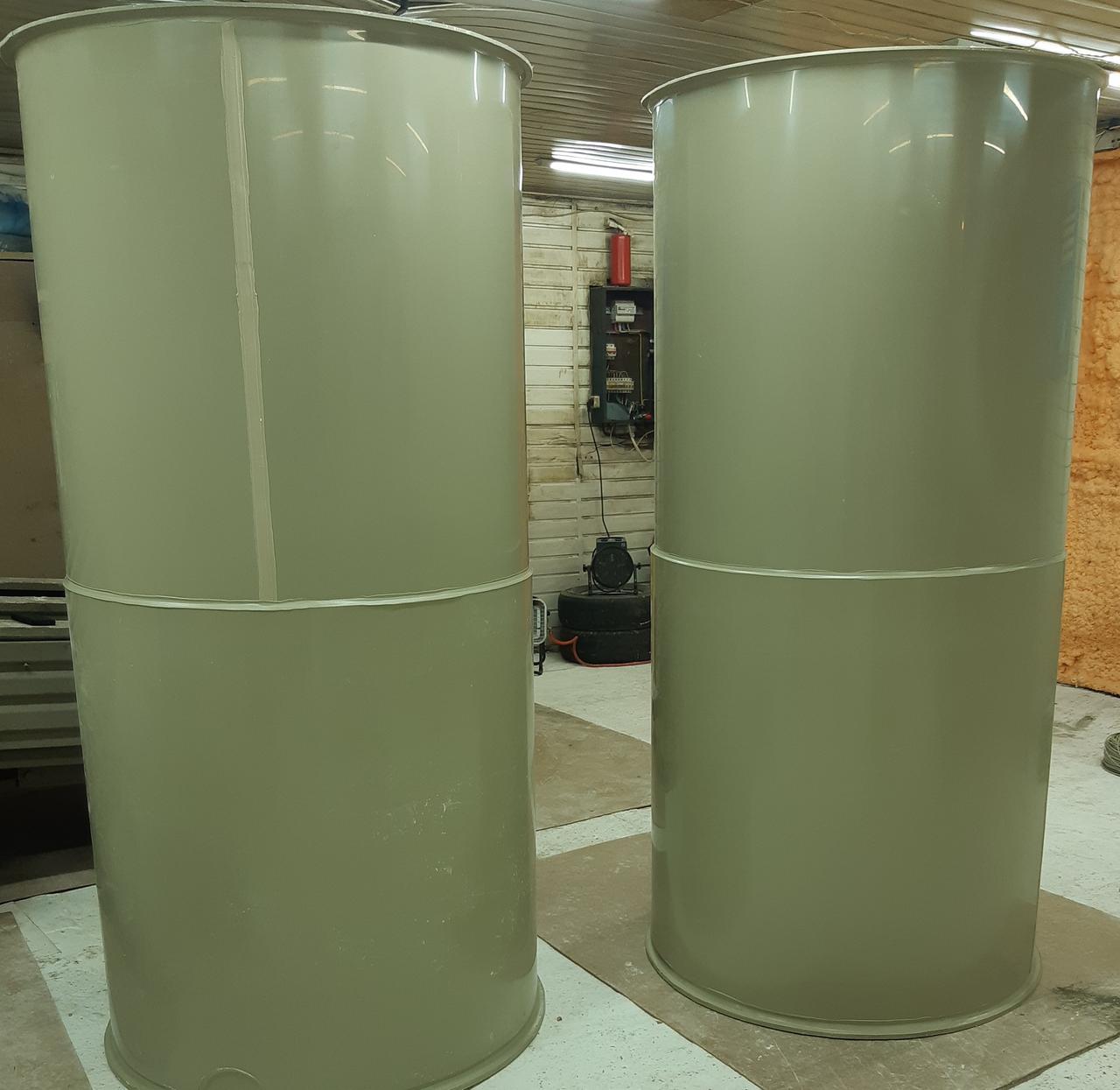 Полипропиленовые баки объемом 1 - 50 м3