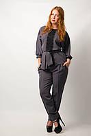 Женский брючный костюм блуза брюки от бренда Adele Leroy.