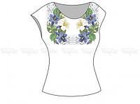 Заготовка женской блузы без рукавов для вышивки бисером «Сказочный цветок»