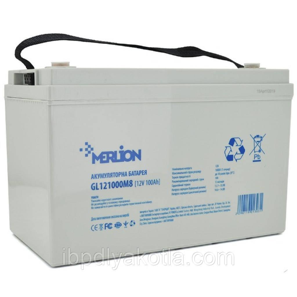 MERLION GL121000M8 12V 100Ah