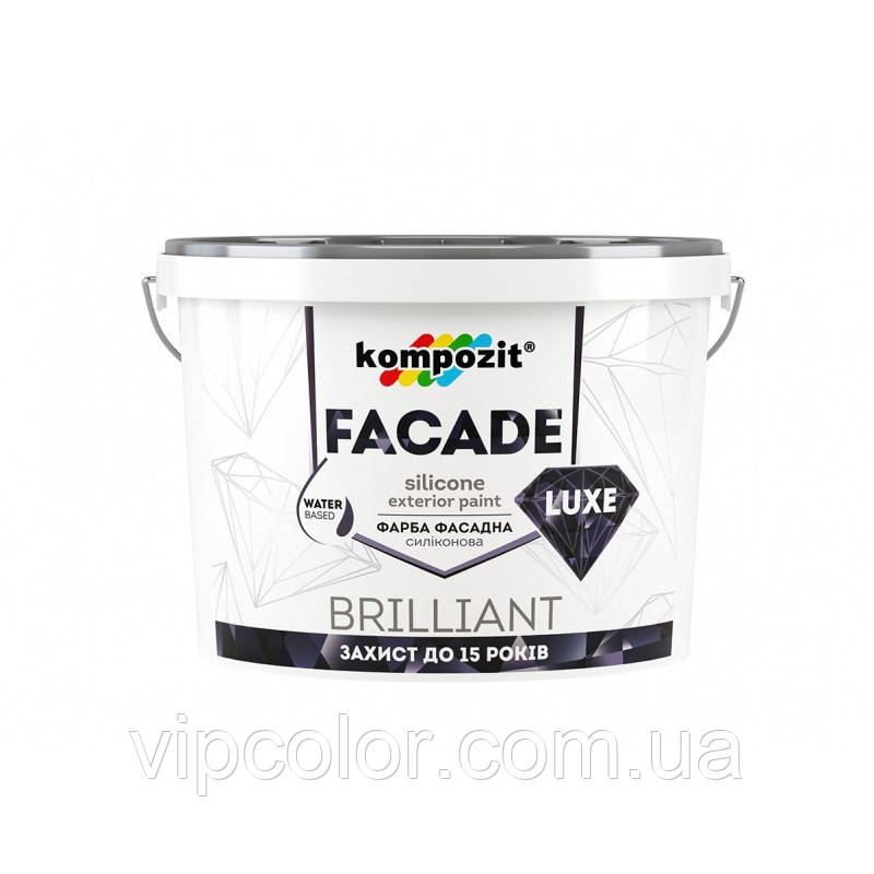 Kompozit Краска для наружных работ FACADE LUXE База С 14кг
