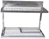 Полка для сушки тарелок и стаканов 1200х325х510мм (9330)