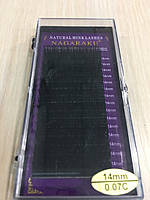 Ресницы Nagaraku толщина 0,07 изгиб С длина 14
