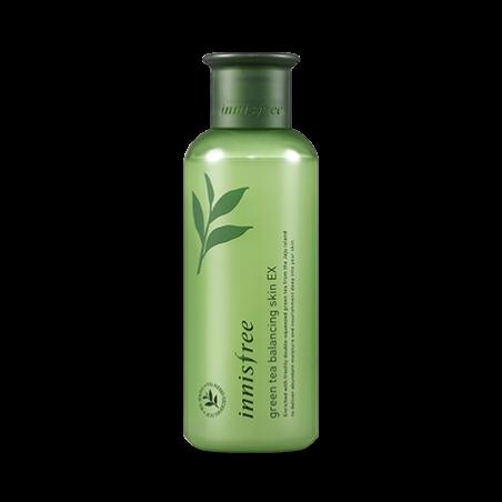 Innisfree Увлажняющий Тоник Зеленый Чай Green Tea Balancing Skin EX 200 ml