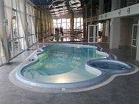 Композитный бассейн Майями 10,70х5,50м h=1,00-1,85м