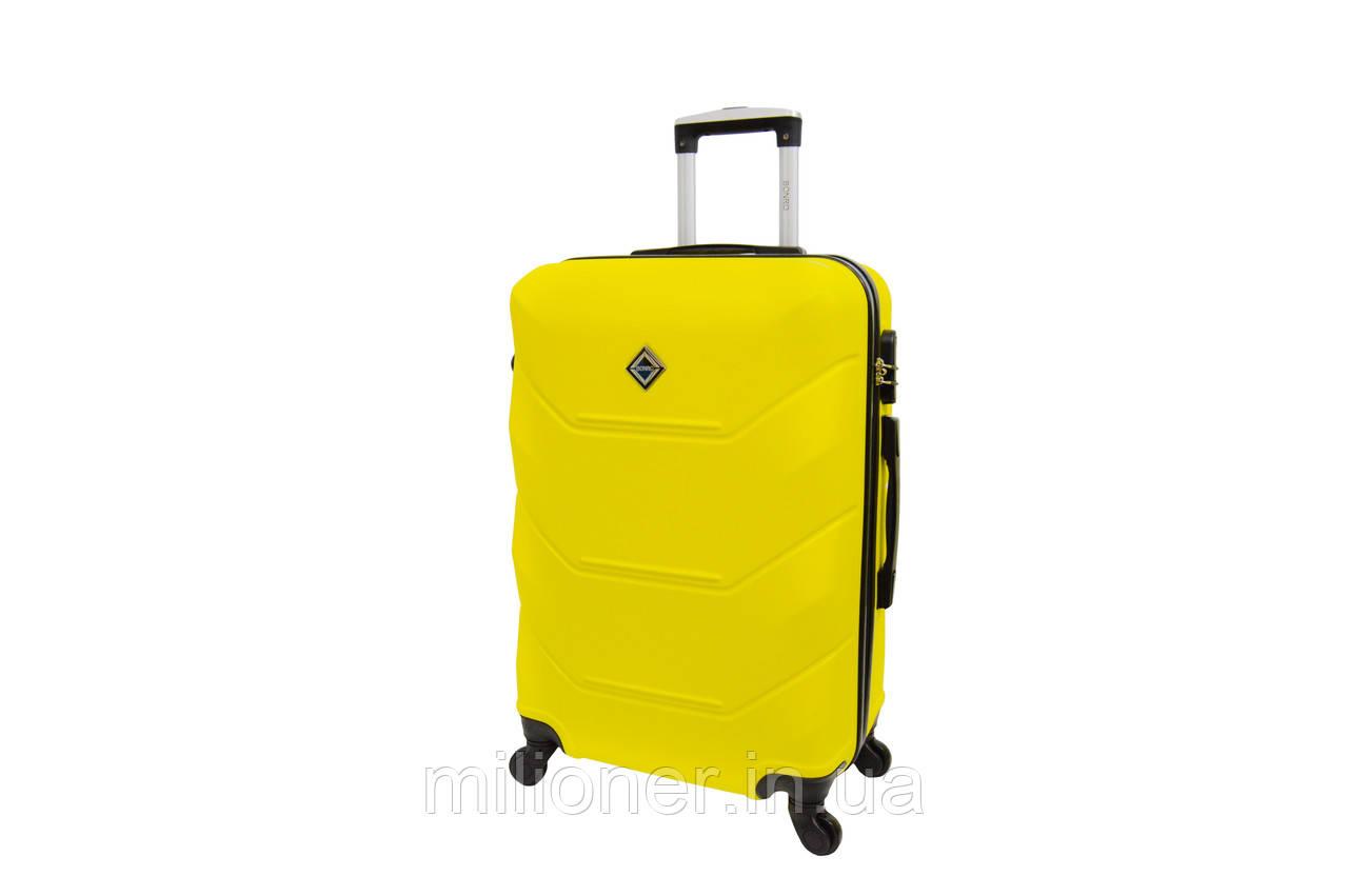 Чемодан Bonro 2019 (большой) желтый