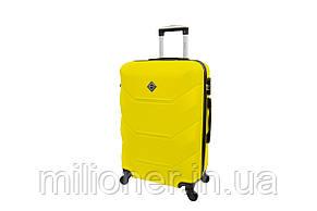 Чемодан Bonro 2019 (большой) желтый, фото 2
