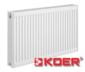 Стальной радиатор Koer 500х1100 тип 22 (боковое подключение)