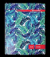 """Книга канцелярская """"FLORISTICA"""" 144 л.кл.оф, А4, BM.24419102-06 Buromax"""