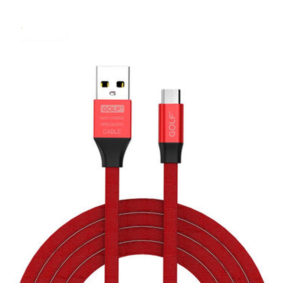 """Зарядный кабель Data Cable USB Micro Golf """"GC-55m"""""""