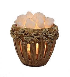 Соляная лампа Горшок керамический