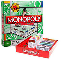 Настольная игра Joy Toy 6123 Monopoly Монополия, кубики, фишки, карточки, игровое поле