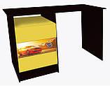 "Стол в детскую комнату ""Camaro"" желтый, фото 3"