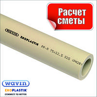Труба D.50 PN20 полипропиленовая пластиковая Ekoplastik