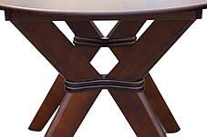 Стіл обідній Брайтон Горіх темний (Мікс-Меблі ТМ), фото 3
