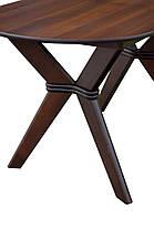Стіл обідній Брайтон Горіх темний (Мікс-Меблі ТМ), фото 2