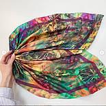 Платок хлопковый 10281-15, павлопосадский платок на голову хлопковый (саржа) с подрубкой, фото 7