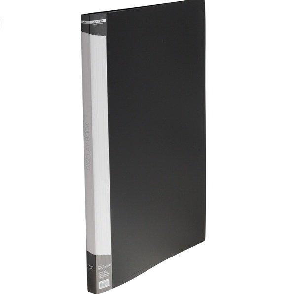 Папка з 20 файлами Buromax Professional А3 чорна