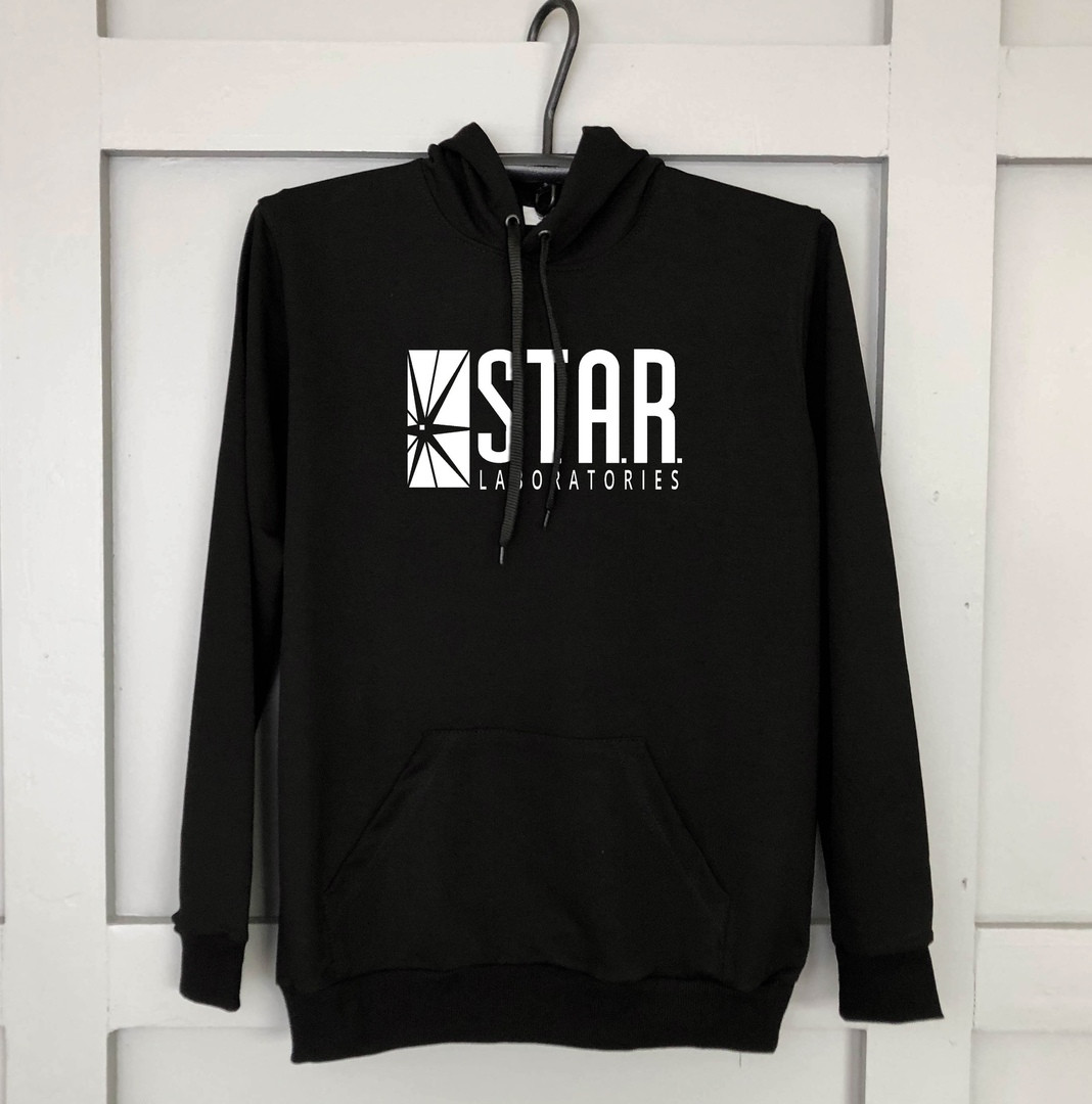 Худи мужской черный STAR | кофта весенняя осенняя