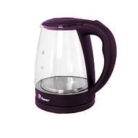 Электрический Чайник Domotec MS 8213 Электрочайник Стеклянный