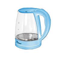 Электрический Чайник Domotec MS 8214 Электрочайник Стеклянный