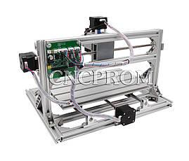 Лазерный фрезерно-гравировальный станок USB 3018 (лазер 500mW + шпиндель 150W), 3 координаты, фото 3