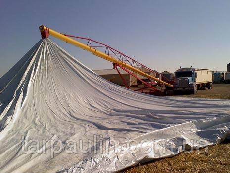 Тарпаулин-120 : тенты для зерна и накрытия сена