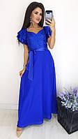 Платье женское нарядное из шифона