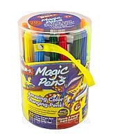 Фломастери - Magic Pens (20 шт.) / Волшебные фломастеры меняющие цвет Magic Pens 20 шт + распылитель