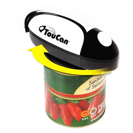 Многофункциональный автоматический ручной консервный нож Toucan, фото 2