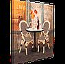 Набор для вышивания бисером FLF-074 Cafe Lait Волшебная страна 30*30 качественный , фото 2