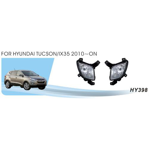 Противотуманные фары Vitol HY-398 Hyundai iX35 2010- эл.проводка