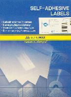 Этикетки самоклеящиеся 40шт., 52,5х29,7мм BM.2852 Buromax (импорт)