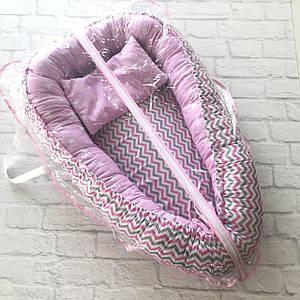 Упаковка для кокона (0.9*0.6) розовая