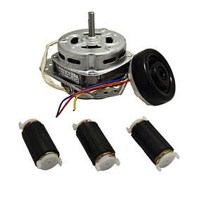 Комплект мотор центрифуги YYG-70 + сальник + амортизатор для стиральной машины Saturn