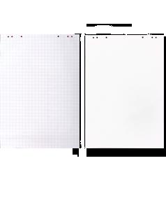Бумага для флипчарта в клетку (20 листов) – 64 x 90 см; код – 000002