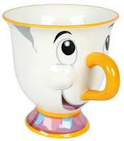 Кружка керамическая3D Чип Chip Potts Красавица и Чудовище Disney Beauty and the Beast