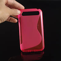 TPU чехол для Blackberry Classic Q20 розовый