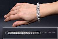 Свадебный браслет с жемчугом (БТ-04)