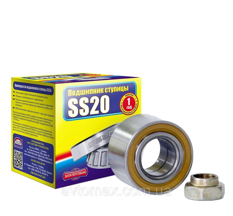 Подшипник ступицы Калина ВАЗ 1117-19 передних колес SS20 ремонтный комплект SS52108