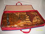 Нарды 70х70 Подарочные резные Японские, фото 4