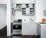 Ванильная кухня с узором МДФ крашеный, фото 5